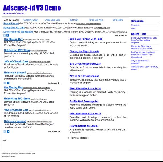 Theme Adsense-id V3