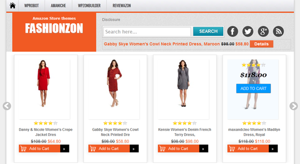 FASHIONZON themes
