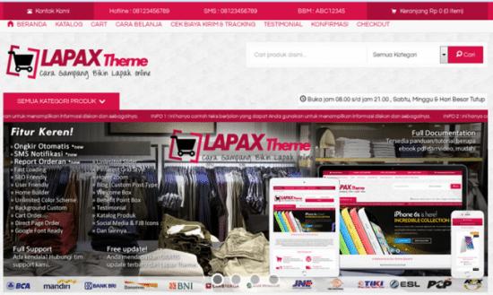 Lapax Theme