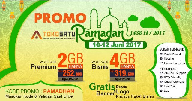 Promo Ramadhan 10 – 12 Juni 2017