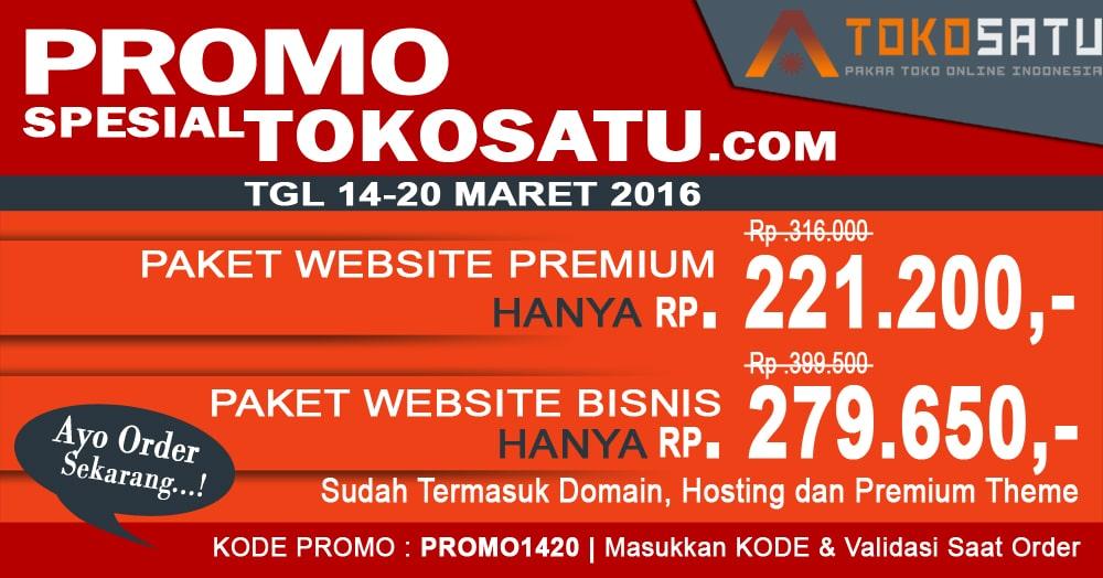 Promo Spesial TokoSatu 14-20 Maret 2016