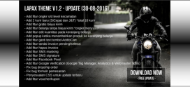 Update Lapax Theme V 1.2
