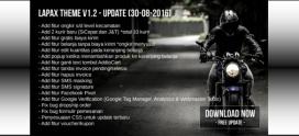 Update Lapax Theme V 1.2