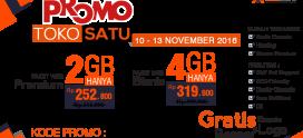 Promo Dadakan Tokosatu 10-13 November 2016