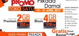 Promo Pilkada Damai 19 – 21 April 2016