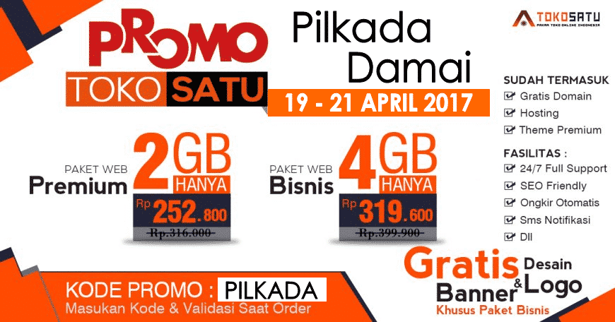 Promo Pilkada Damai 19 – 21 April 2016