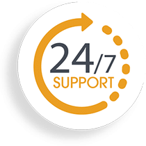 24 7 layanan support website