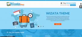 Theme Baru Tour dan Travel (WP Wizata)