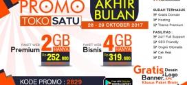 Promo Akhir Bulan, Berlaku Tanggal 28-29 Oktober 2017