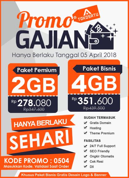 Promo Gajian 05 April 2018