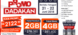 Promo Dadakan, Edisi 21 – 22 Juni 2018