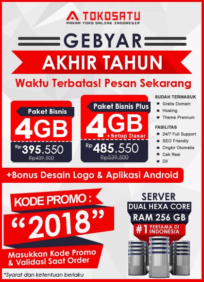 Promo Tokosatu, Gebyar Akhir Tahun 2018