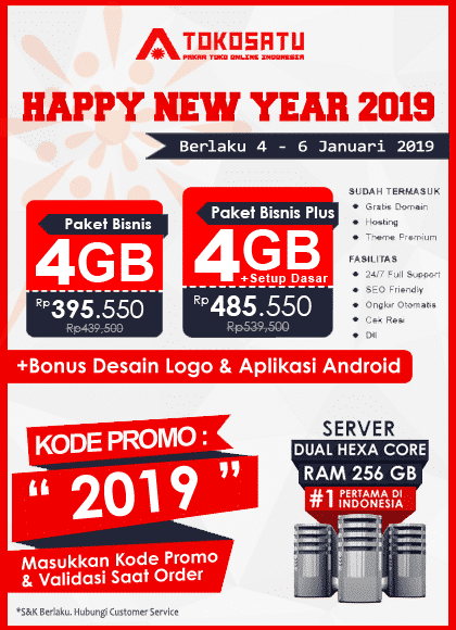 Promo Tokosatu, Promo New Year 2019