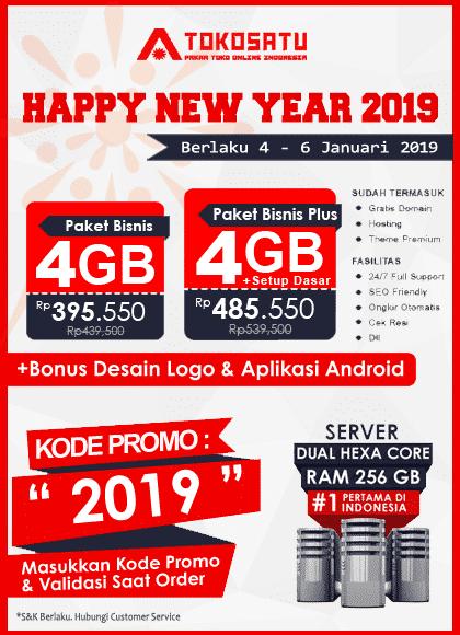 Promo Tokosatu, Promo New Year 2019