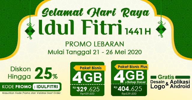 Promo Lebaran, Menyambut Hari Raya Idul Fitri 1441 H