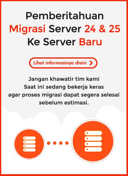 Maintenance pada Server 24 & 25