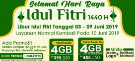 Libur Idul Fitri 2019
