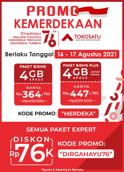 Promo Kemerdekaan, Dirgahayu Republik Indonesia Ke 76
