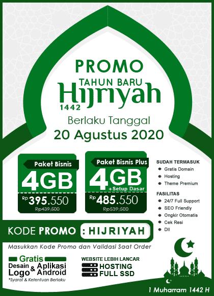 Promo Tahun Baru Islam 1442