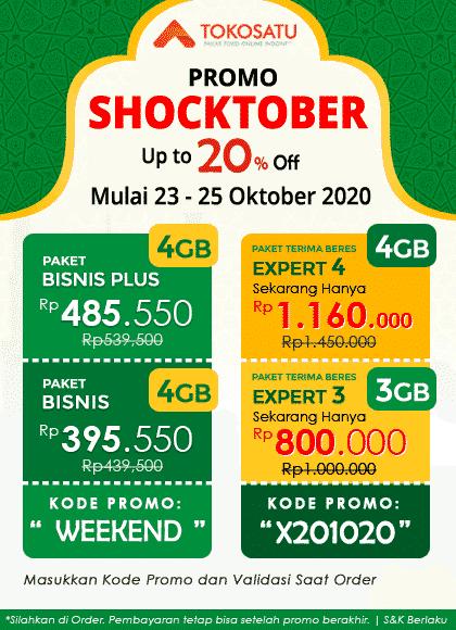 Promo Shocktober 2020