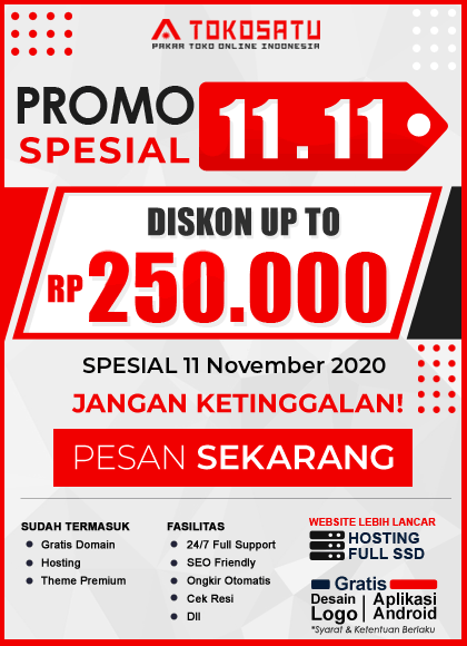 Promo Spesial 11.11 Diskon up to 250rb