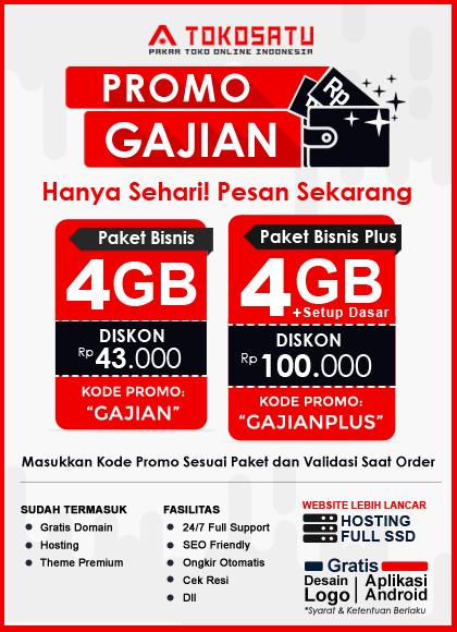 Promo Gajian Tokosatu, 5 November 2020