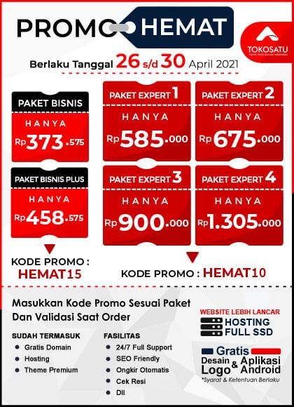 Promo Hemat Tokosatu, 26-30 April 2021