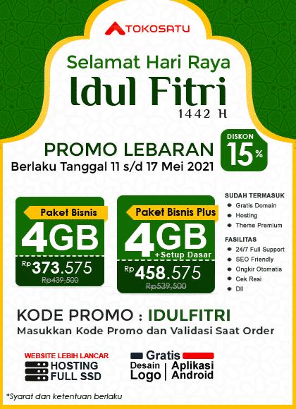 Promo Lebaran, Menyambut Hari Raya Idul Fitri 1442 H