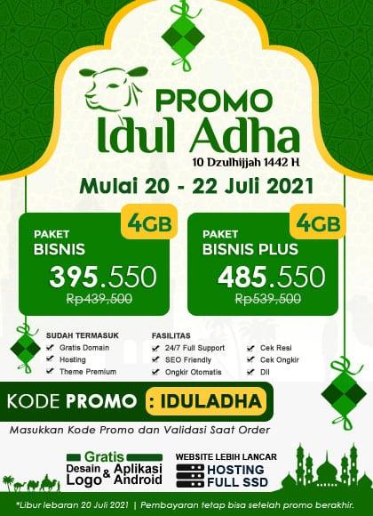 Promo Lebaran Idul Adha 2021 / 1442 H